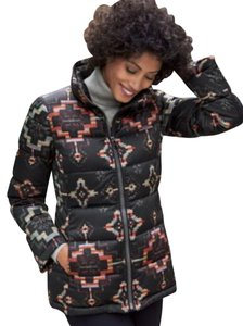 Pendleton Retired Style Puffer Puffer Sturdy Front Zip Hidden Front Pockets Lined Down Jacket Coat