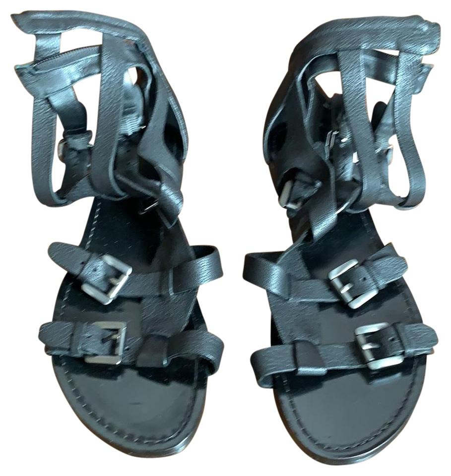 e3279d955534 Belle by Sigerson Morrison Black Gladiator Sandals Size US 9.5 ...