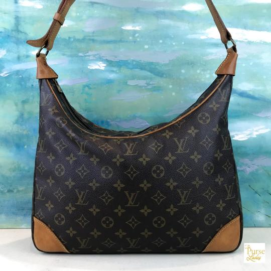 Louis Vuitton Monogram Canvas Boulogne Shoulder Bag