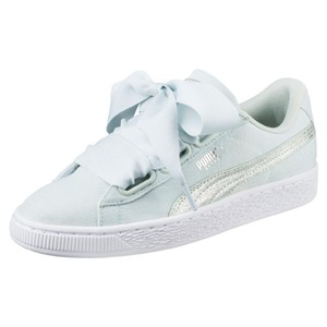 Puma Sneaker Sold Out Basket Heart Glitter Limited Edition Light Blue Athletic