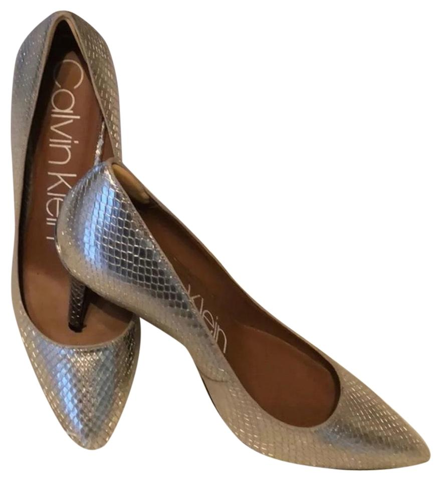 the latest 700ed 1e327 Gold Snakeskin Gayle Pumps