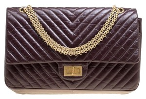 5c9896599420a6 Added to Shopping Bag. Chanel Leather Quilted Chevron Shoulder Bag. Chanel  2.55 Reissue Chevron Quilted Reissue Classic 227 Flap ...