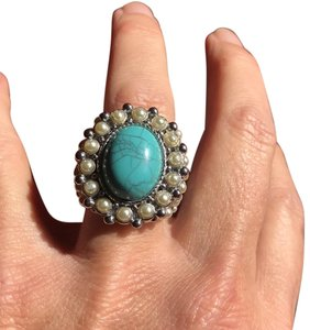 Macy's Turquoise and pearls
