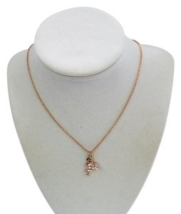 Kate Spade 098686607040 New York Flamingo Rose Gold Plated Necklace