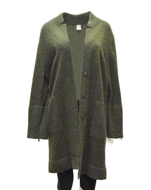 Item - Camo Green Sweater Coat Cardigan Size 12 (L)