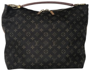 Louis Vuitton Sully Sully Monogram Shoulder Hobo Bag