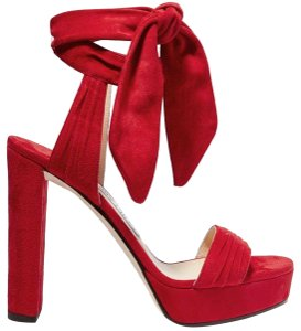 c937e4ca0d6 Women s Red Jimmy Choo Shoes - Up to 90% off at Tradesy