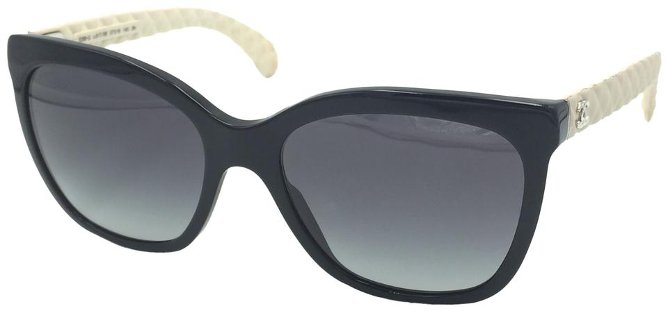 7c1524fee7 Chanel Butterfly Black Quilted Oversize Classic Sunglasses 5288-Q 817 S6  Image 0 ...
