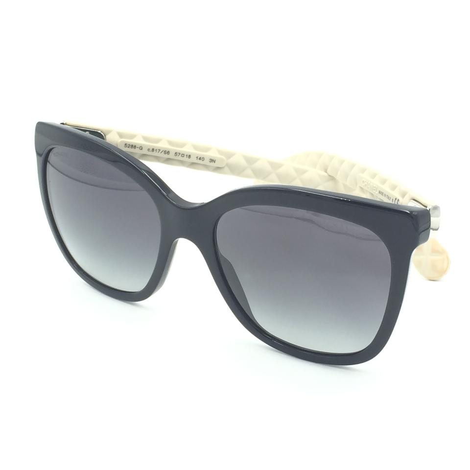 0947299c78 Chanel Butterfly Black Quilted Oversize Classic Sunglasses 5288-Q 817 S6  Image 9. 12345678910