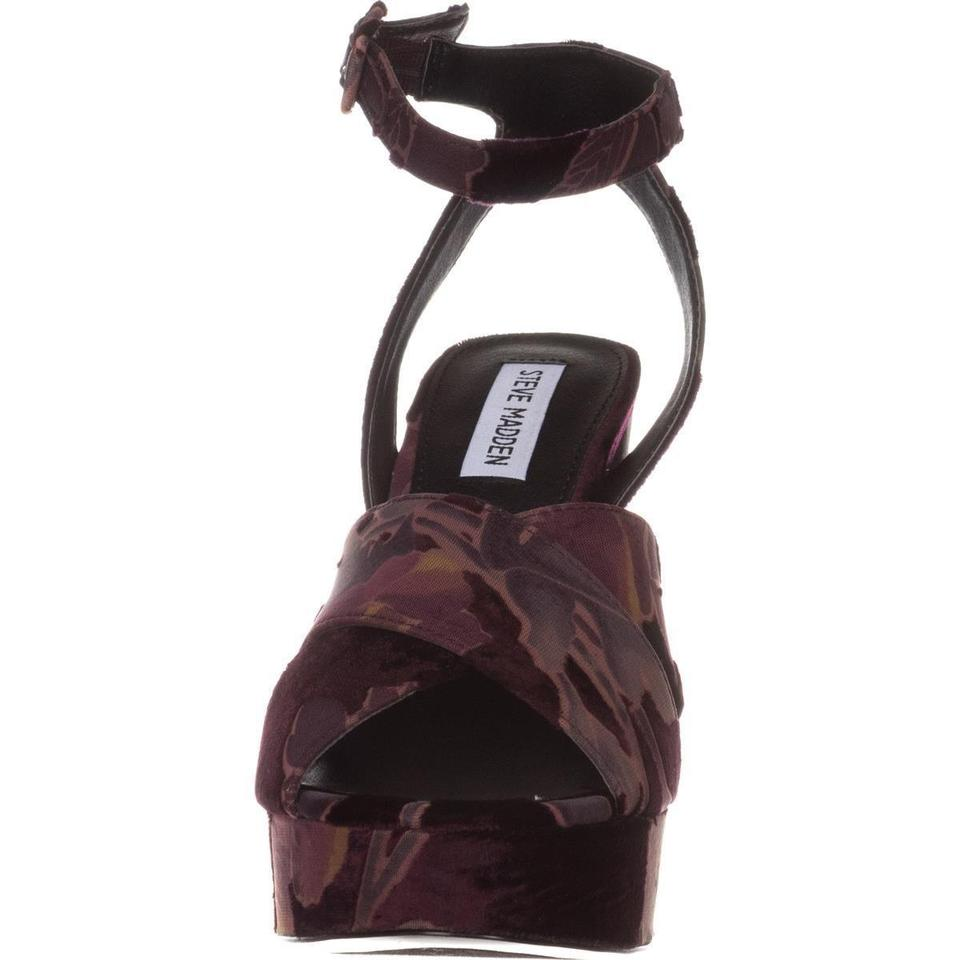 bff0460e49f Steve Madden Red Tropa2 Combat Wine Boots/Booties Size US 5.5 Regular (M,  B) 22% off retail