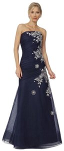 Liancarlo Tulle Evening Embroidered Dress