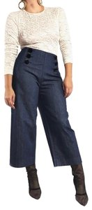 Kate Spade Trouser/Wide Leg Jeans-Dark Rinse