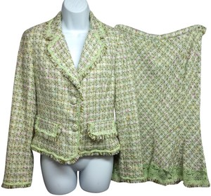 Ice ICE LACE TRIM TWEED SKIRT SUIT 8