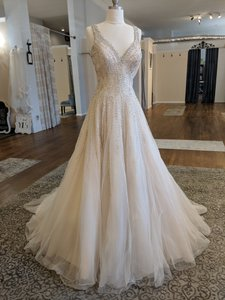 Allure Bridals Blush C382 Formal Wedding Dress Size 8 (M)