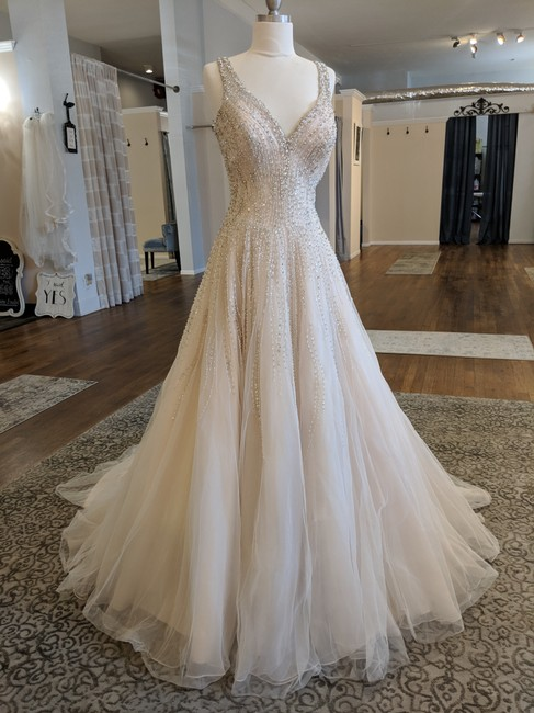 Item - Blush C382 Formal Wedding Dress Size 8 (M)