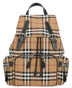 Burberry The Medium Rucksack In Vintage Check Nylon Backpack - Tradesy 3cf91e2bd8b5c