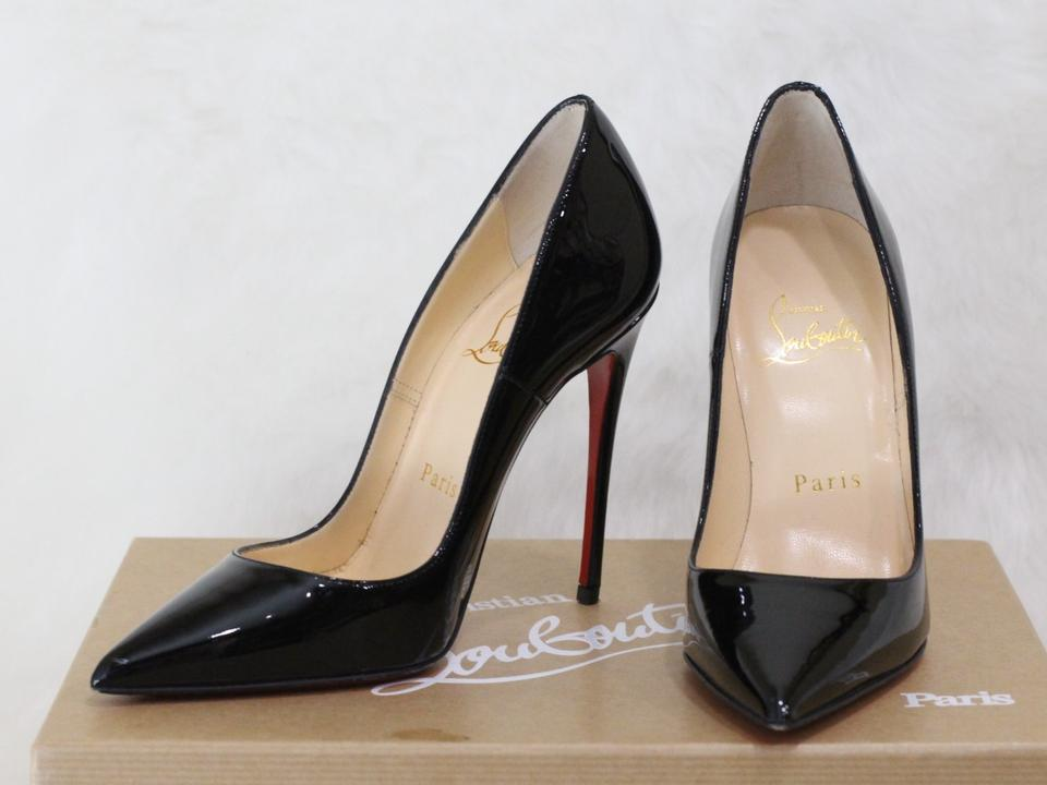23d01a8c8ee0 Christian Louboutin Black So Kate Patent Leather Pumps. Size  EU 34  (Approx. US 4) ...