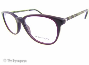 Burberry B 2112 Retro 1950's style Cat Eye lightweight with burberry print