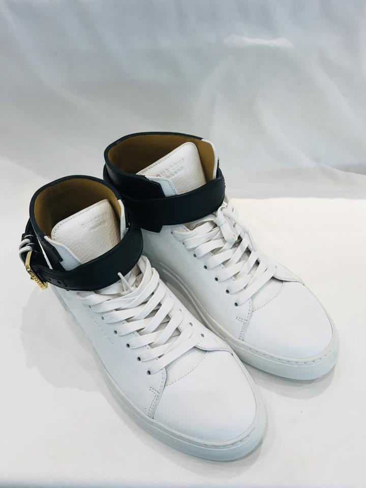 bcd950469326 Buscemi White 100mm High-top Sneakers Sneakers Size EU 43 (Approx. US 13)  Regular (M