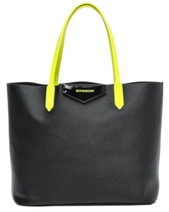 Givenchy Tote in Black/Yellow