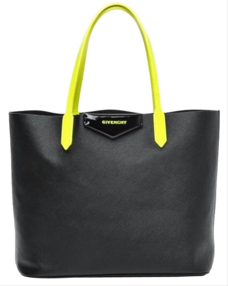 6badca2fb6 Givenchy Antigona Black Yellow Tote - Tradesy
