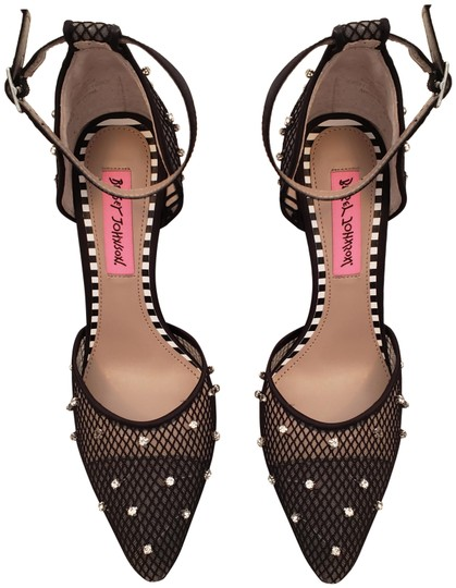 Preload https://img-static.tradesy.com/item/24827664/betsey-johnson-black-with-ankle-strap-women-s-pumps-size-us-55-narrow-aa-n-0-2-540-540.jpg