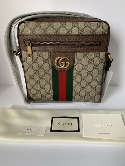 Gucci Ophidia Ophidia Gg Supreme Ophidia Gg Web Messenger Bag