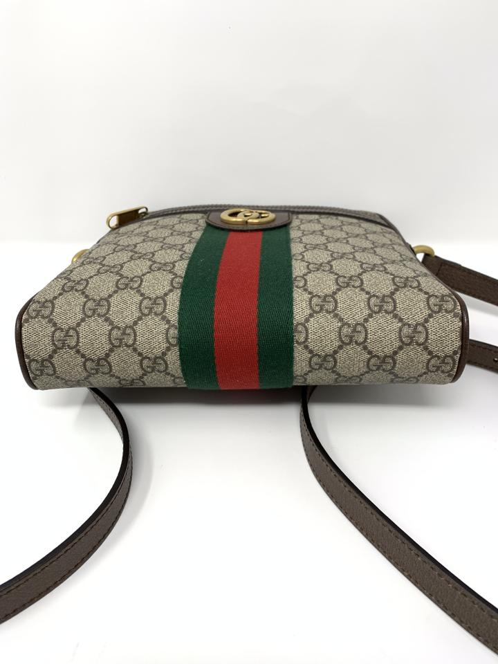 f648d43f6293 Gucci Ophidia Ophidia Gg Supreme Ophidia Gg Web Messenger Bag Image 10.  1234567891011