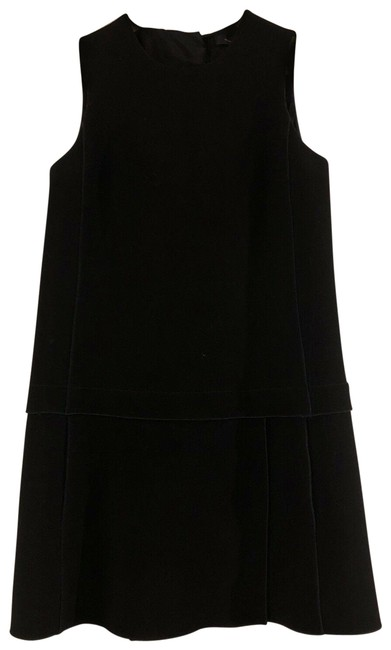 Item - Black Flirty Sleeveless Short Work/Office Dress Size 2 (XS)