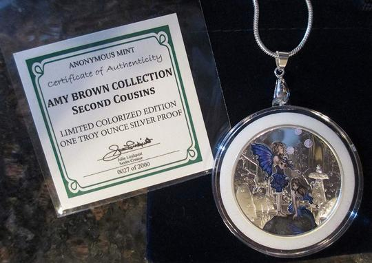 AMY BROWN COLLECTION AMY BROWN 2ND Cousins 1 oz .999 Proof Silver Round 24