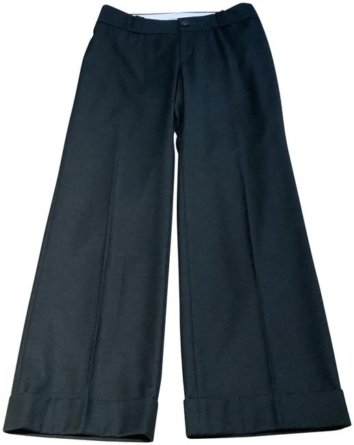 Item - Gray Wool Trousers/Pants with Cuffs Pants Size 8 (M, 29, 30)