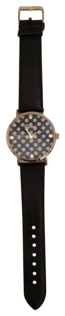 Anthropologie Black Quartz Watch Anthropologie Black Quartz Watch Image 1