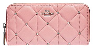 Coach COACH ACCORDION ZIP WALLET WITH QUILTING F15763