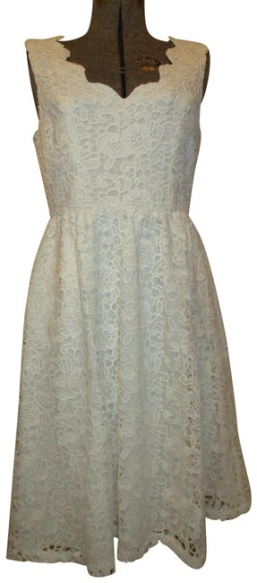 Preload https://img-static.tradesy.com/item/24829513/modcloth-white-sleeveless-lace-short-cocktail-dress-size-8-m-0-1-650-650.jpg