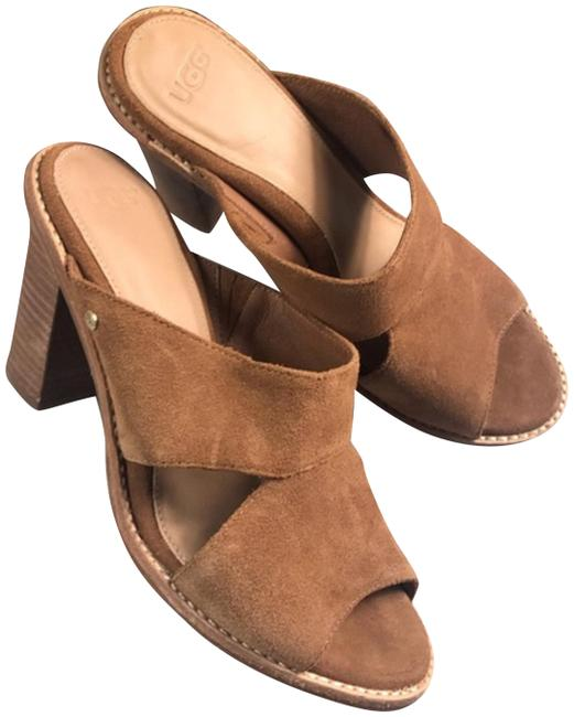 UGG Australia Brown Sandals Size US 7 Regular (M, B) UGG Australia Brown Sandals Size US 7 Regular (M, B) Image 1