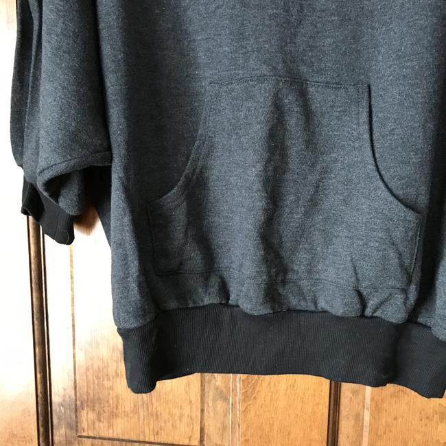Forever 21 Dolman Sleeve Pouch Pocket Banded Cotton/Polyester Machine Wash Sweatshirt Image 2