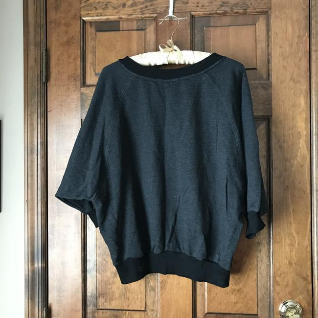 Forever 21 Dolman Sleeve Pouch Pocket Banded Cotton/Polyester Machine Wash Sweatshirt Image 3