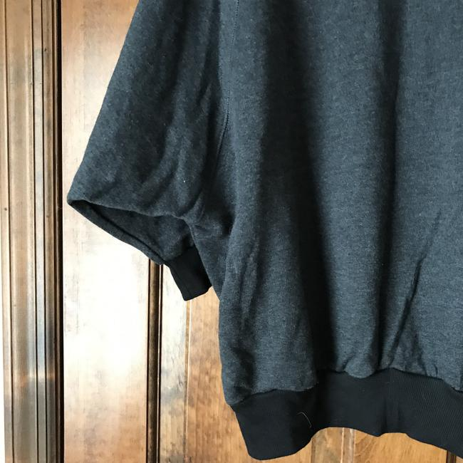 Forever 21 Dolman Sleeve Pouch Pocket Banded Cotton/Polyester Machine Wash Sweatshirt Image 5