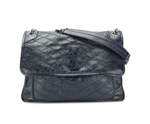 Saint Laurent Ysl Quilted Leather Crossbody Shoulder Bag 45899bd6cb