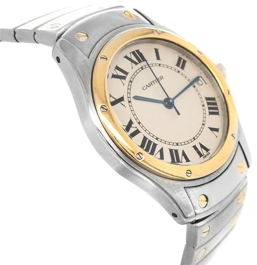 Preload https://img-static.tradesy.com/item/24829868/cartier-stainless-steel-and-18k-gold-watch-0-1-540-540.jpg