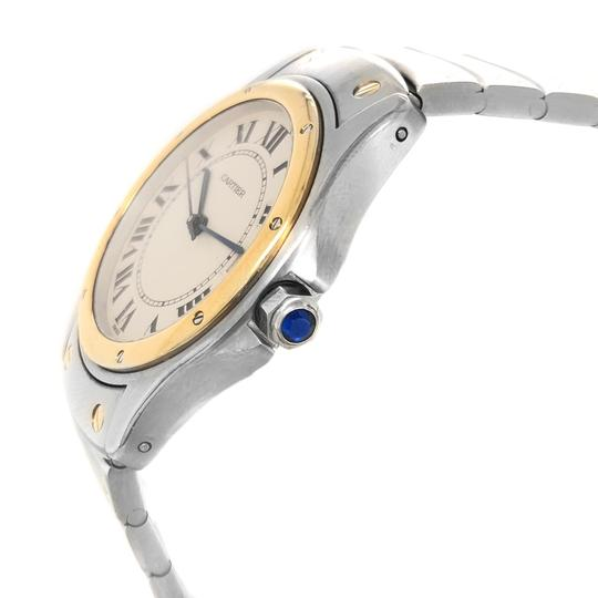 Cartier Cartier Stainless Steel and 18k Gold Automatic Watch Image 1