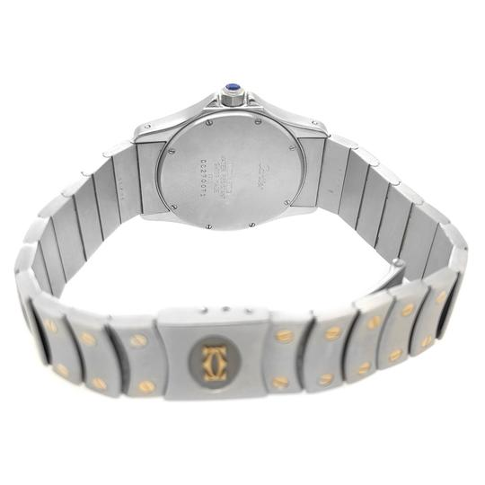 Cartier Cartier Stainless Steel and 18k Gold Automatic Watch Image 3
