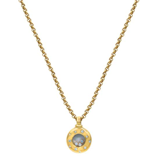 Chopard Chopard 18k Gold Happy Diamond Pendant Necklace Image 2