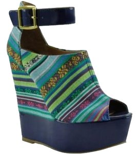 Bakers Blue Wedges