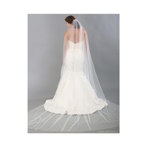 Bel Aire Bridal Ivory Long Luxe Tulle Cathedral By Bridal Veil