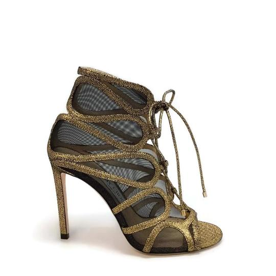 Jimmy Choo Gold Boots Image 1
