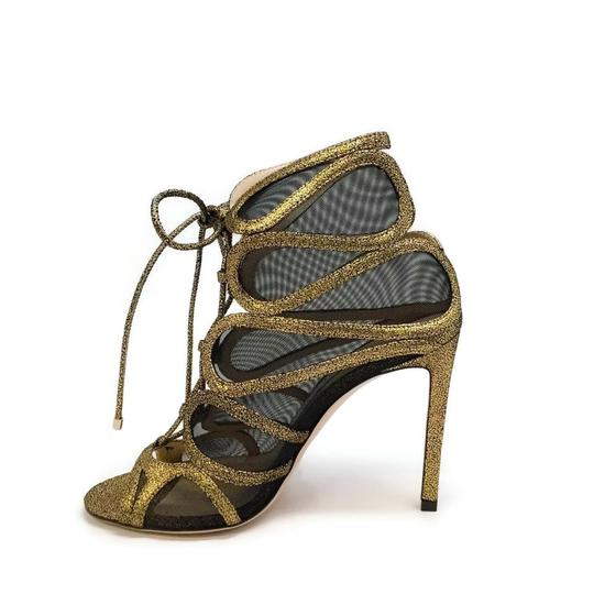 Jimmy Choo Gold Boots Image 2
