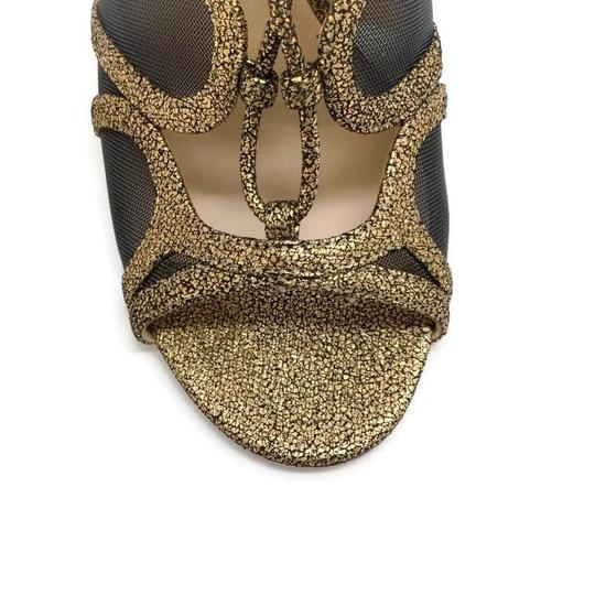 Jimmy Choo Gold Boots Image 4
