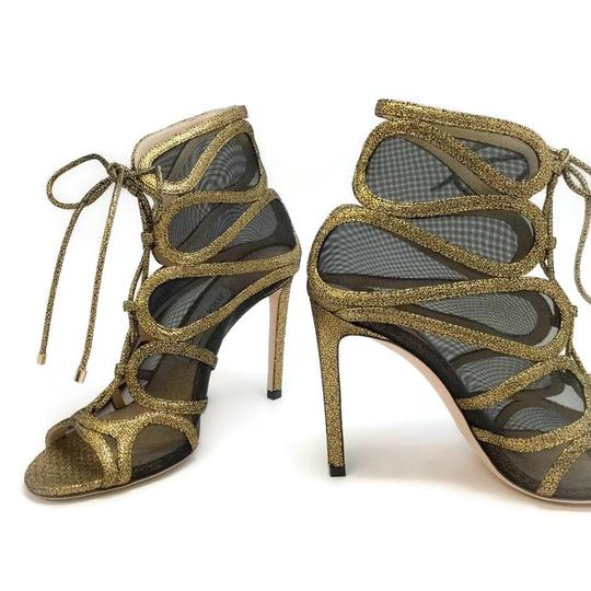 Jimmy Choo Gold Boots Image 6