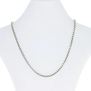 David Yurman David Yurman Box Chain Necklace - Sterling Silver & 14k Gold E0613